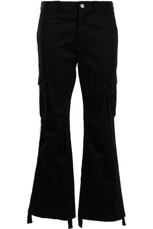 DION LEE Women Cargo Pants - Cargo kick-flare trousers