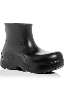 Bottega Veneta Men's Puddle Rain Boots