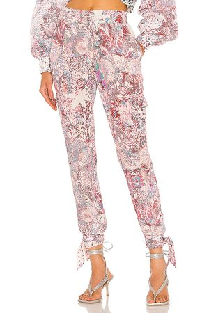 ROCOCO SAND Paola Jogger Pant in Pink.