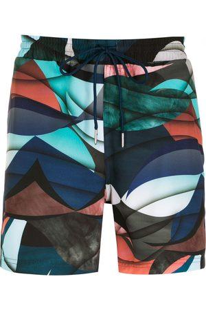 Lygia & Nanny Gil print shorts - Multicolour