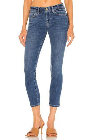 Frame Women Skinny - Le Skinny De Jeanne Crop in Blue.
