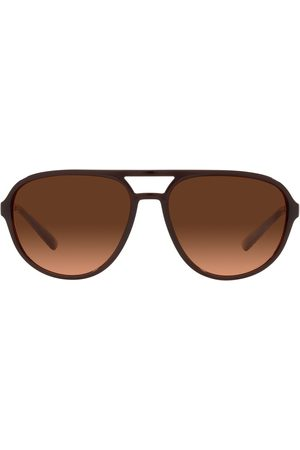 Dolce & Gabbana Aviator-frame gradient sunglasses