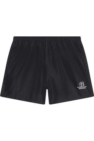 Balenciaga Elasticated-waist swim shorts