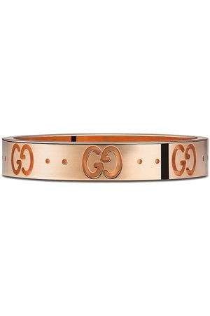 Gucci Women Rings - 18kt rose gold Icon band