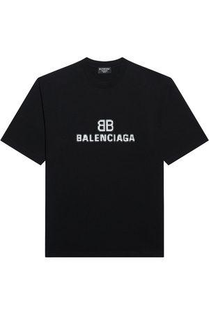 Balenciaga Logo-print short-sleeve T-shirt