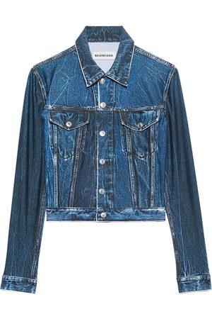 Balenciaga Trompe-l'œil denim jacket
