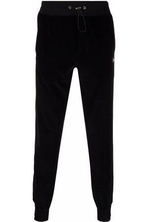 Philipp Plein Iconic Plein velvet track pants