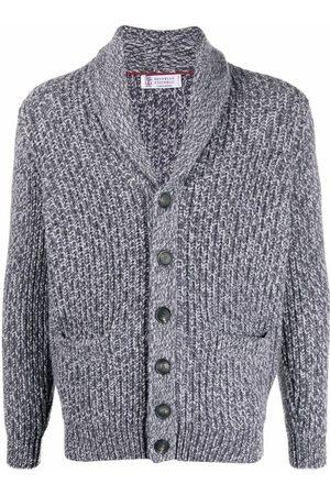 Brunello Cucinelli Chunky-knit cardigan - Grey