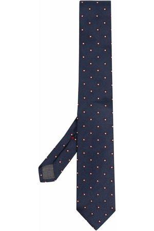 Brunello Cucinelli Geometric-print silk tie