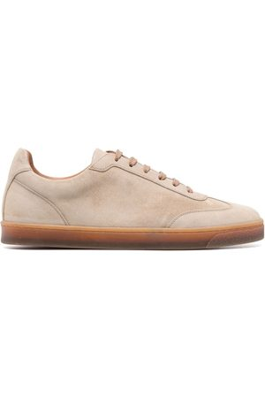 Brunello Cucinelli Low top lace-up sneakers - Neutrals