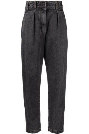Brunello Cucinelli Tapered-leg denim jeans