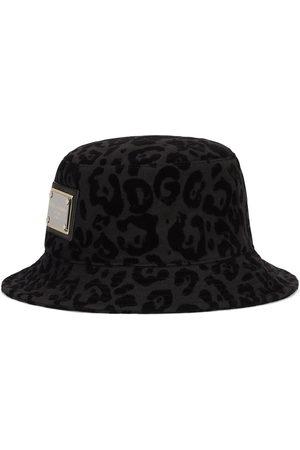 Dolce & Gabbana Leopard-print bucket hat