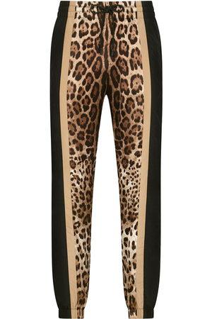 Dolce & Gabbana Leopard-print sweatpants