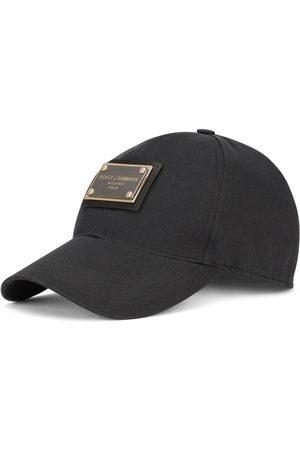 Dolce & Gabbana Men Caps - Logo-plaque baseball cap