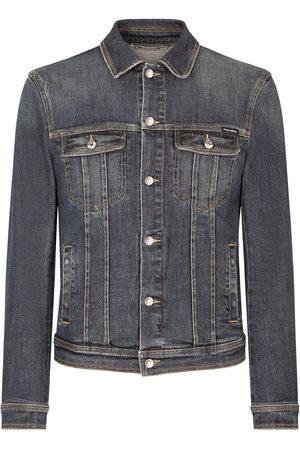 Dolce & Gabbana Faded denim jacket