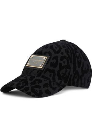 Dolce & Gabbana Men Caps - Leopard-print baseball cap