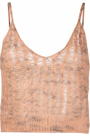 Acne Studios Knitted crop top