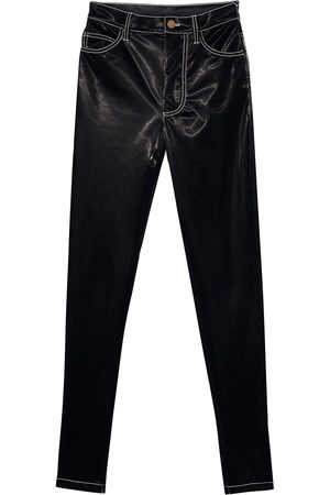 Marc Jacobs Contrast-stitching five-pocket trousers