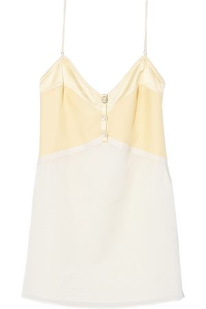 Marc Jacobs Spaghetti-strap two-tone dress