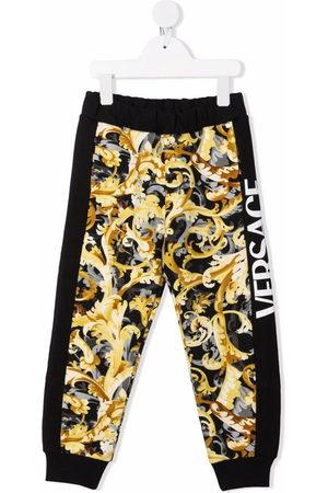 VERSACE Baroccoflage print track pants