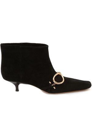 J.W.Anderson Chain-embellished kitten-heel booties