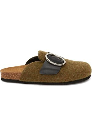 J.W.Anderson Felt buckled loafers