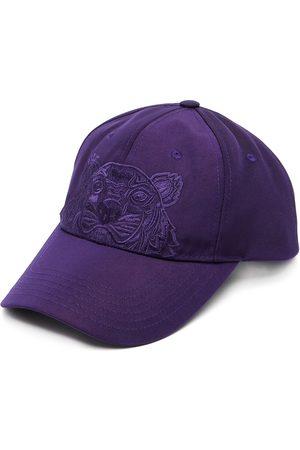 Kenzo Men Caps - Tiger-motif cotton baseball cap