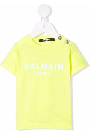 Balmain Logo-print short-sleeved T-shirt