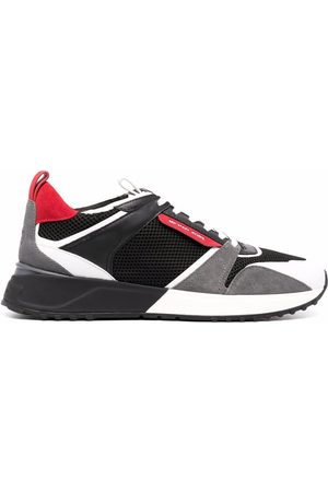 Michael Kors Theo panelled trainers