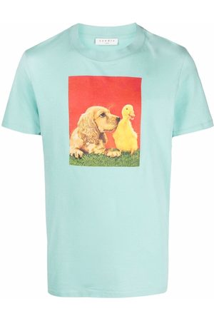 Sandro Paris Farm graphic-print T-shirt