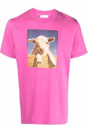 Sandro Paris Farm graphic print T-shirt