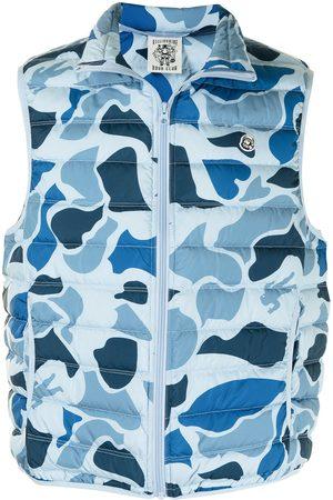 Billionaire Boys Club Camouflage-print padded vest