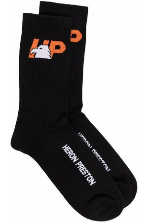 Heron Preston Socks - Eagle-motif socks