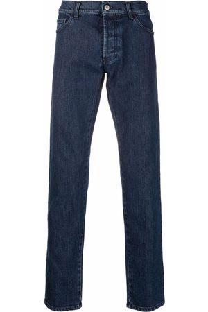 Marcelo Burlon County of Milan Men Slim - Tempera logo-print jeans