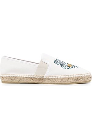 Kenzo Tiger-embroidered espadrilles