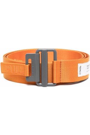 Heron Preston Belts - Tape logo belt