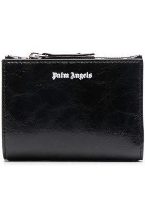 Palm Angels Crinkled logo wallet