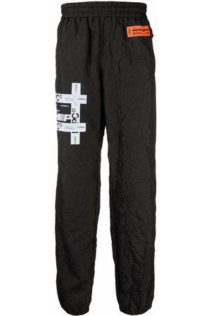 Heron Preston Men Sweatpants - Logo-patch track pants