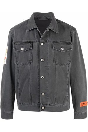 Heron Preston Graphic-print denim jacket