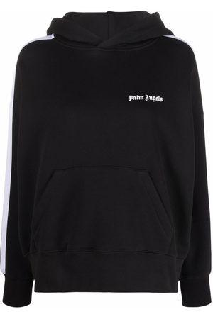 Palm Angels Logo-print cotton hoodie
