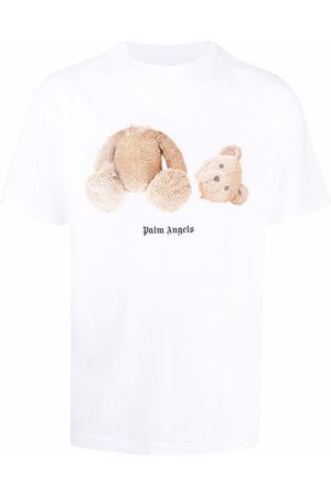 Palm Angels Men Short Sleeve - Logo-print short-sleeve T-shirt
