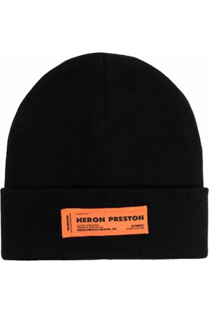Heron Preston Logo patch beanie