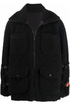 Heron Preston Men Fleece Jackets - Zip-fastening fleece jacket