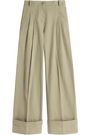 Victoria Victoria Beckham High-waisted flared chino trousers