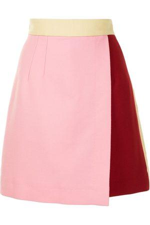 Dolce & Gabbana Colour-block high-waisted skirt - S9000