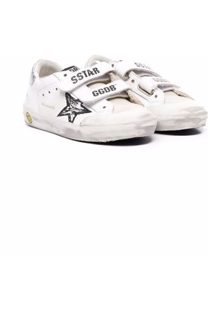 Golden Goose Kids Old School leather trainers