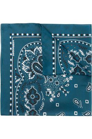Dsquared2 Men Scarves - Paisley-print bandana scarf