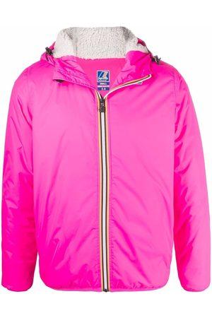 K-WAY R&D Fleece-lined hooded jacket