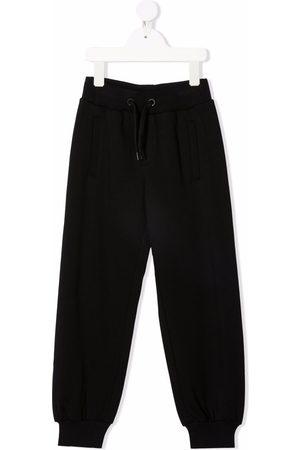 Fendi Boys Sweatpants - Raised-logo track pants