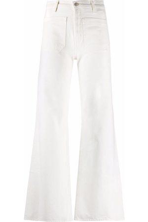 Nili Lotan Florence high-waist flared jeans